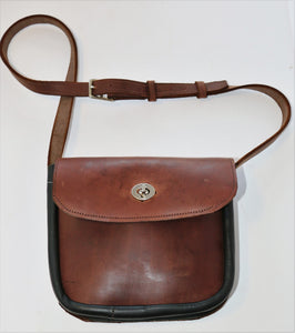 Leather Handbag - Crossbody