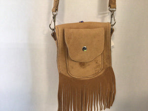 Crossbody Moose Hide