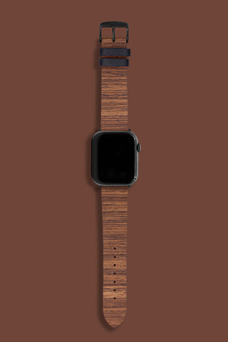 Real Wood Band - Dark Teak