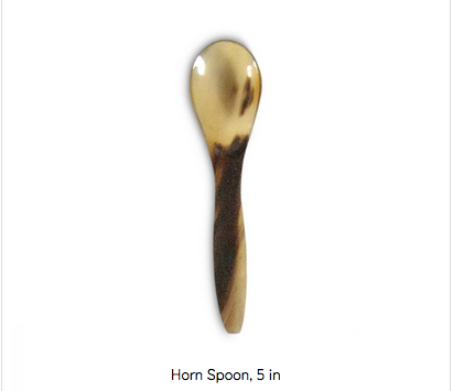 Montes Doggett - 5-in Horn Spoon