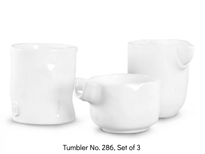 Montes Doggett - Set of 3 Tumblers No. 286