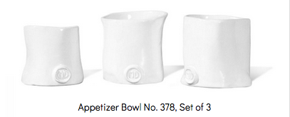 Montes Doggett - Appetizer Bowls, Set of 3