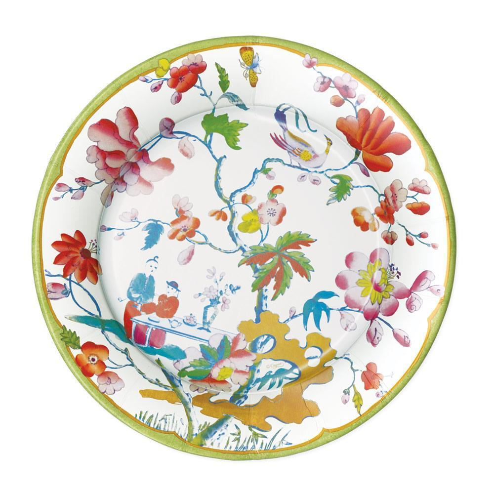 Caspari Summer Palace Dinner Plates