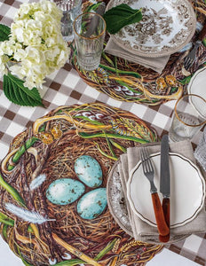 Hester & Cook Die-Cut Woodland Nest Placemat