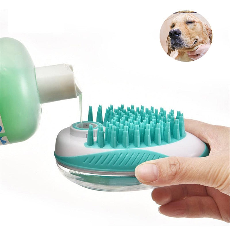 Pet Dog Brush Grooming Comb Cleaning Tool