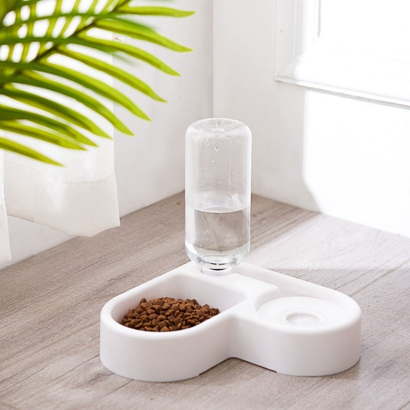 Automatic Water Dispenser & Food Dish Bowl