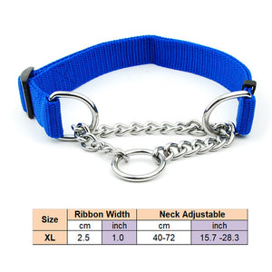 Dog Collar with Welded Link Chain