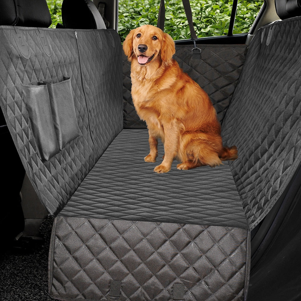 Dog Car Seat Cover Luxury Quilted Car Travel Pet Dog Carrier Car