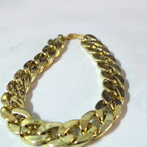 Luxury Collar Golden/Rose Golden - Gold Plated Chain