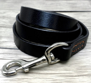 Luxury Soft Genuine Pet Dog Collar and Leash Set