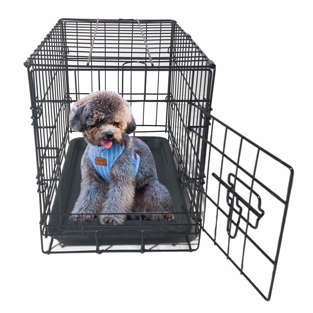 Pet Kennel Folding Steel Crate