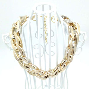 27CM/35CM/45CM Luxury Gold Bling Bling Puppy Dog Necklace Collar