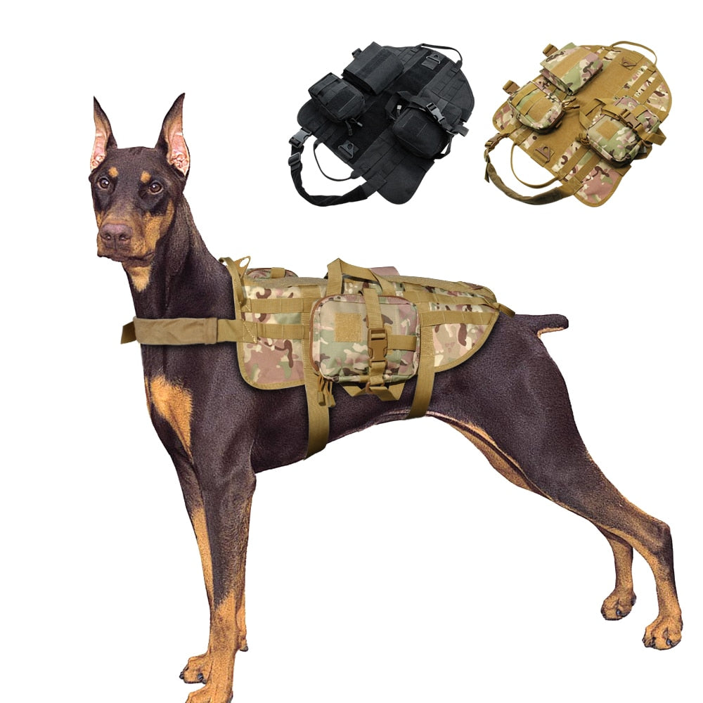 Dog Harness Military Tactical Vest