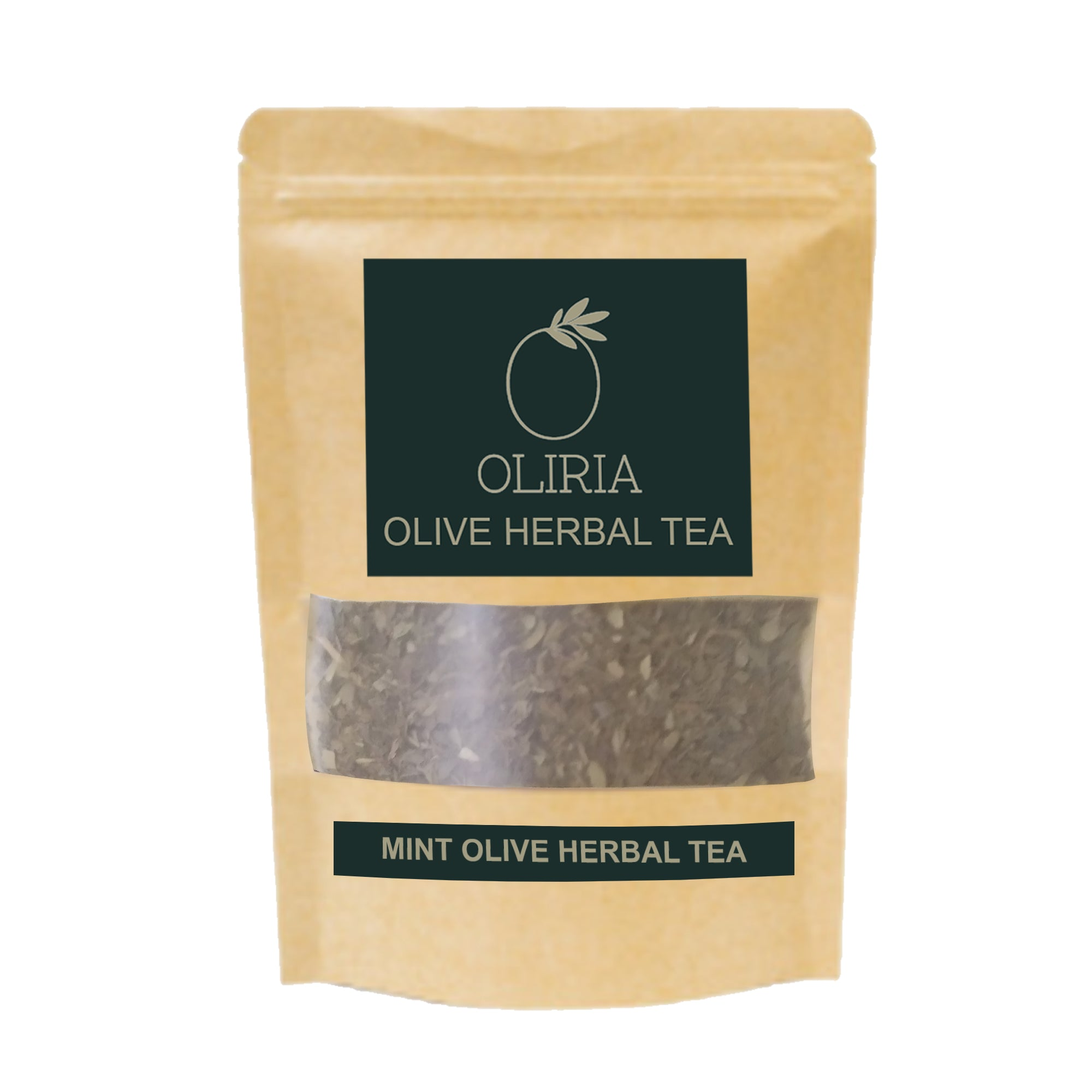 OLIRIA™ Mint Natural Olive Green Tea Loose Packing 100g
