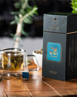 Natural Mint Olive Tea - 20 Tea Bags