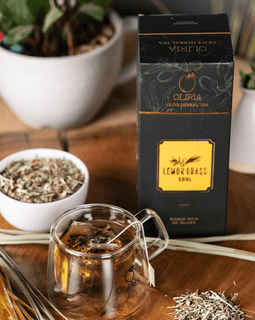 Lemongrass Natural Olive Tea - 20 Tea Bags