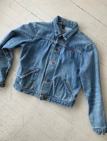 vintage Maverick denim jacket