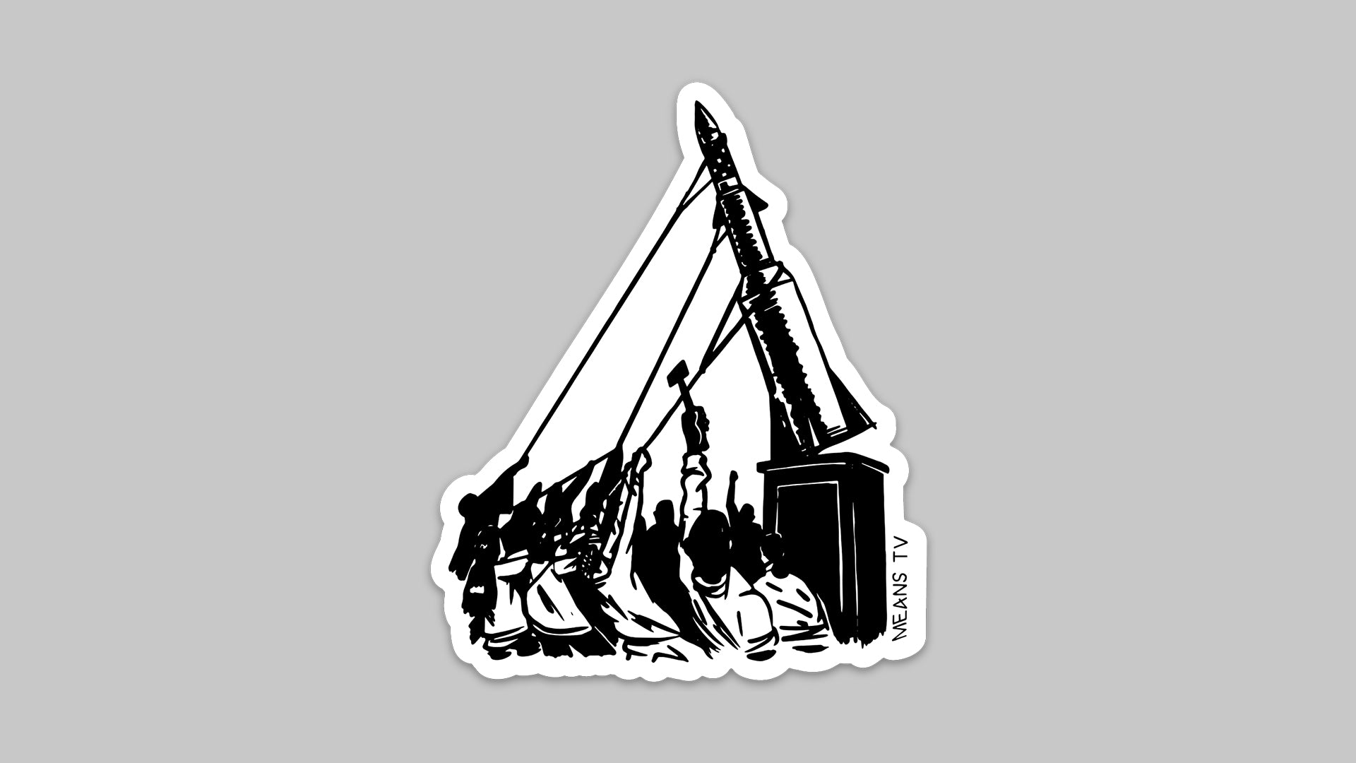 Tear It All Down sticker