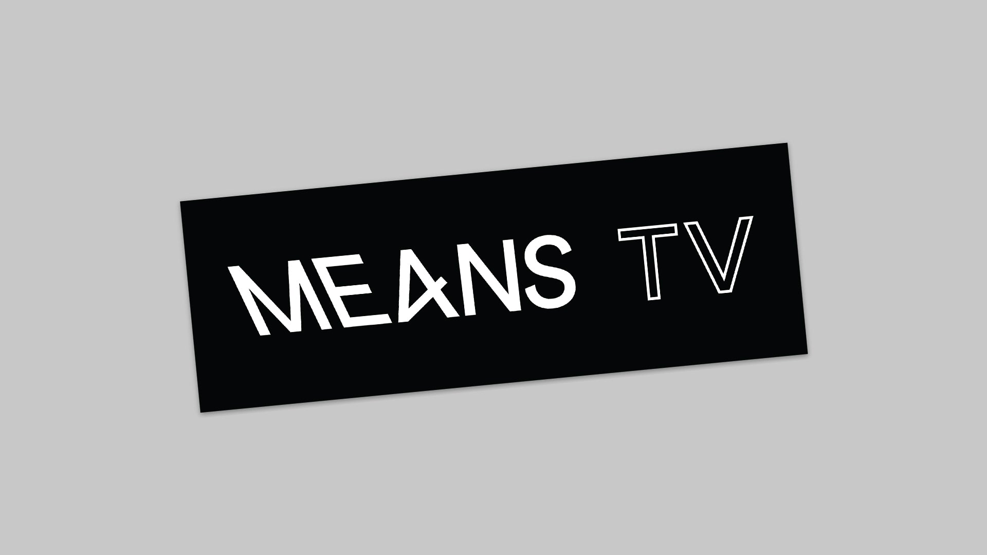 Means TV sticker