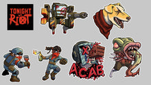 Load image into Gallery viewer, Tonight We Riot sticker variety pack