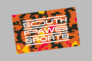 Southpaws camo sticker
