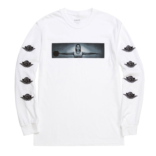 Wings Long Sleeve T-Shirt White