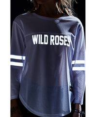 Sweat Crew Wild Roses 3M® Football Jersey