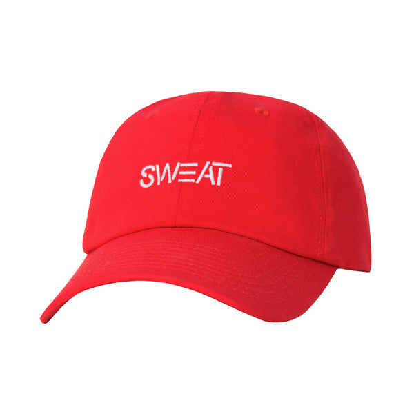 Sweat 6 Panel Hat Red