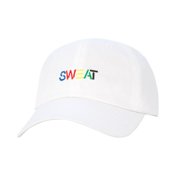 Sweat 6 Panel Hat White