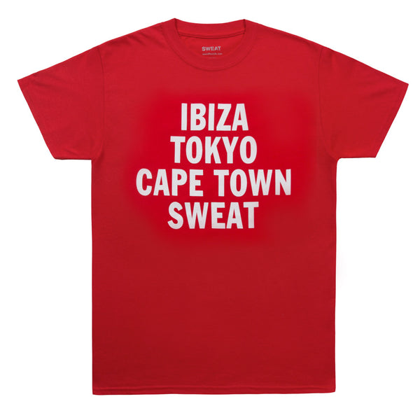 Summer Tour T-shirt Red