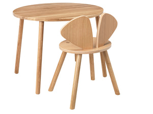 MOUSE CHAIR SCHOOL (6-10 YEARS) // LACQUERED OAK VENEER