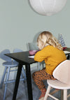 MOUSE JUNIOR HIGH CHAIR  (3-9 YEARS) // OAK