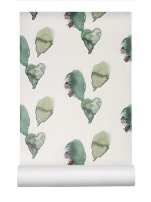 Nofred Kids Wallpaper for girls in Ladybird design