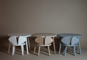 MOUSE TABLE (2-5 YEARS) // GREY MDF