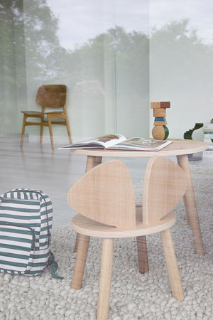 MOUSE TABLE // OAK