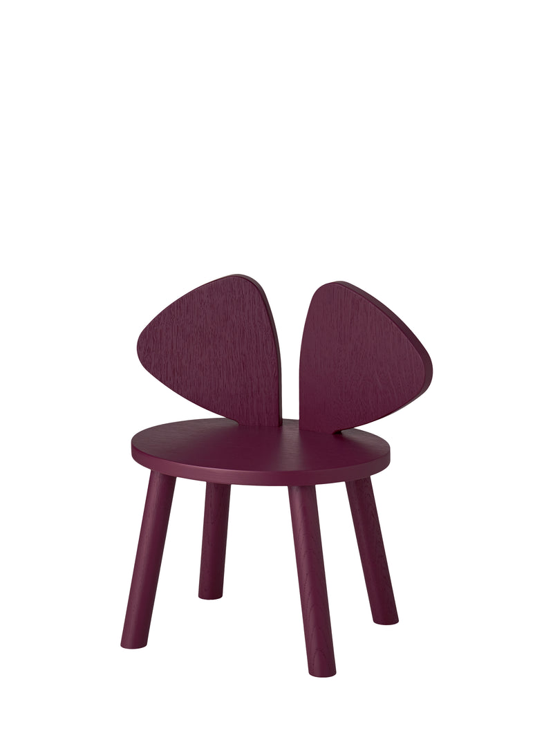 MOUSE CHAIR // BURGUNDY