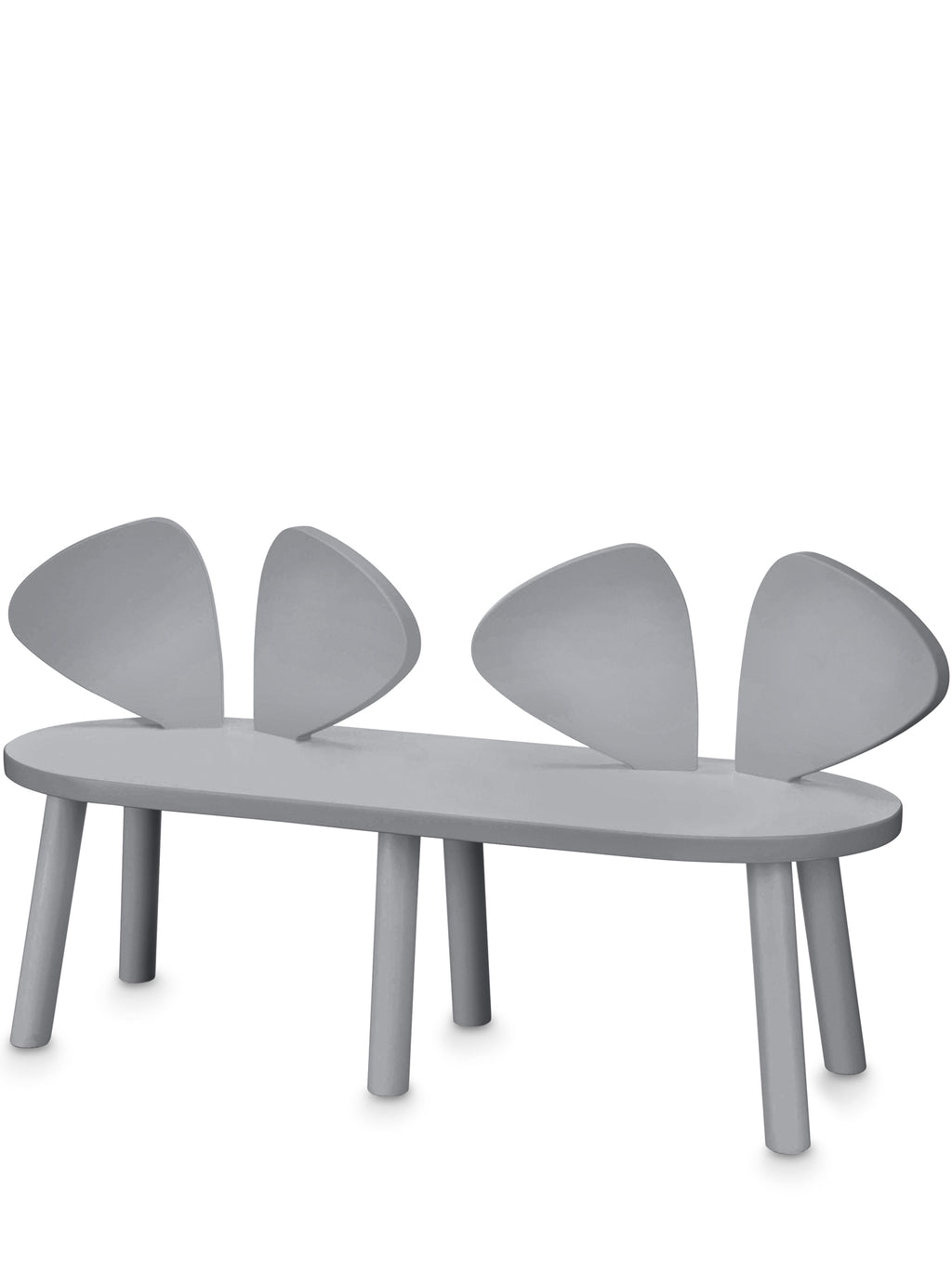 Nofred Mouse Bench Grey | Nofred Mouse Bench bænk grå