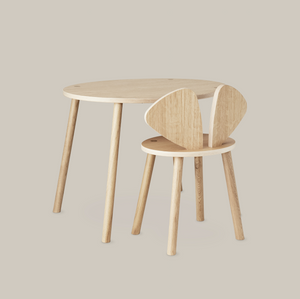 MOUSE CHAIR SCHOOL (6-10 YEARS) // OAK