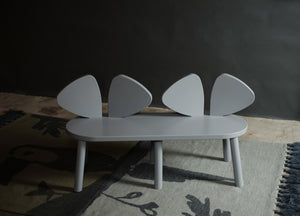 MOUSE BENCH (2-5 YEARS) // GREY MDF