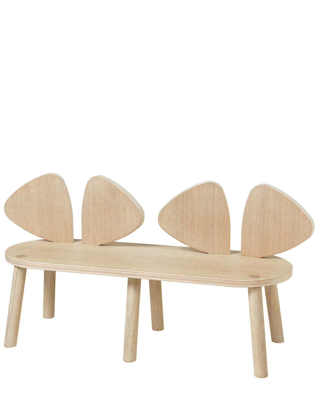 MOUSE BENCH (2-5 YEARS) // OAK