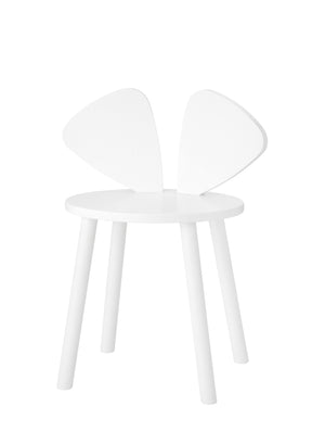 MOUSE CHAIR SCHOOL (6-10 YEARS) // WHITE