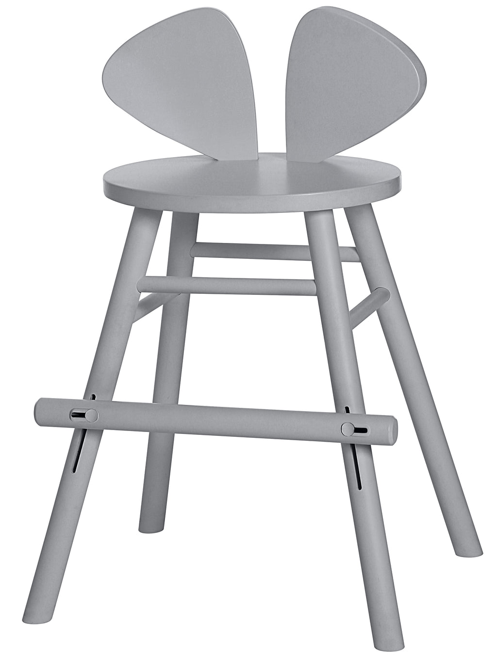 MOUSE JUNIOR HIGH CHAIR (4-8 YEARS)  // GREY (PRE-ORDER)