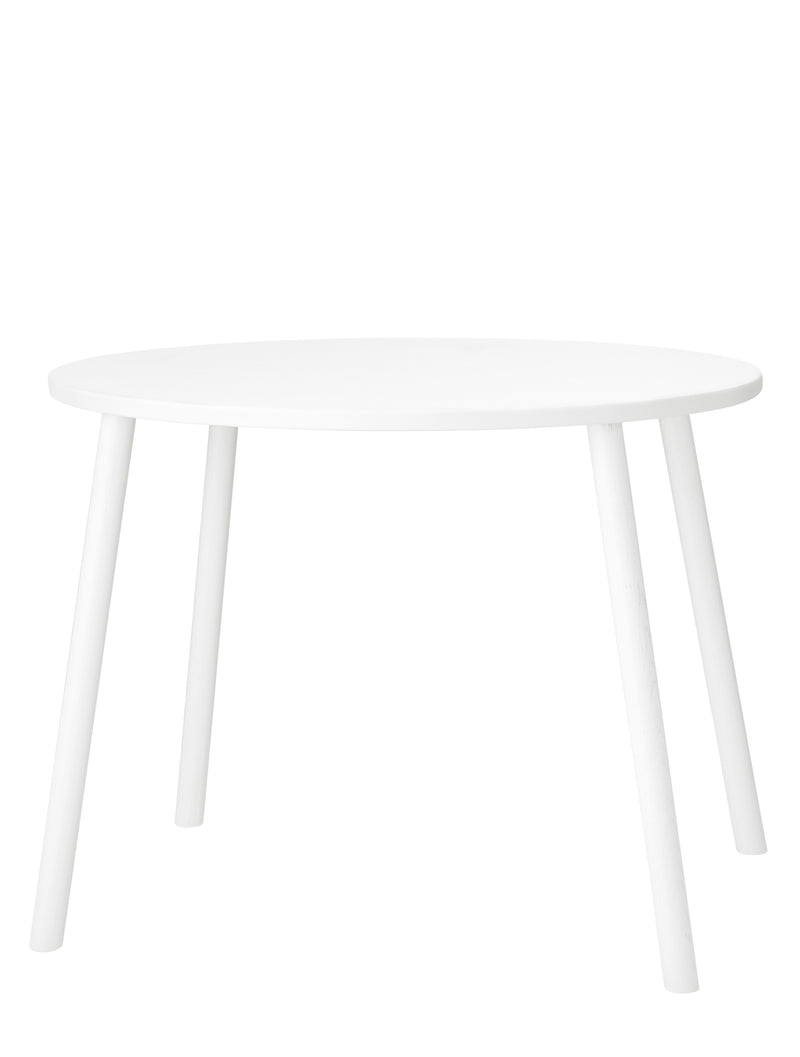 MOUSE TABLE SCHOOL (6-10 YEARS) // WHITE