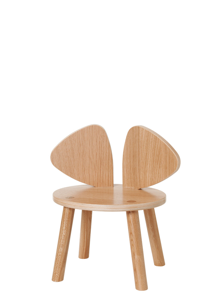 Nofred Mouse Chair Lacquered Oak | Nofred Mouse Chair stol lakeret eg