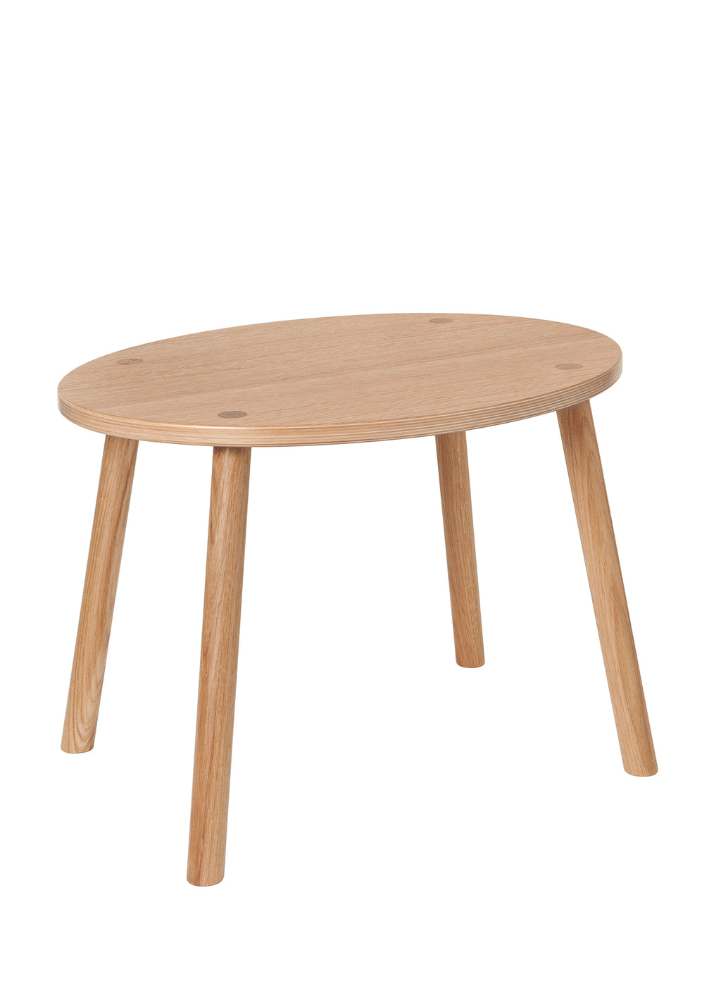 MOUSE TABLE (2-5 YEARS) // LACQUERED OAK