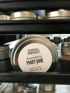Remembering Mary Jane Soy Candle