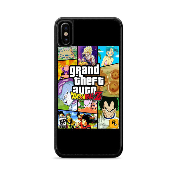gta x dragonballz iPhone XS Case