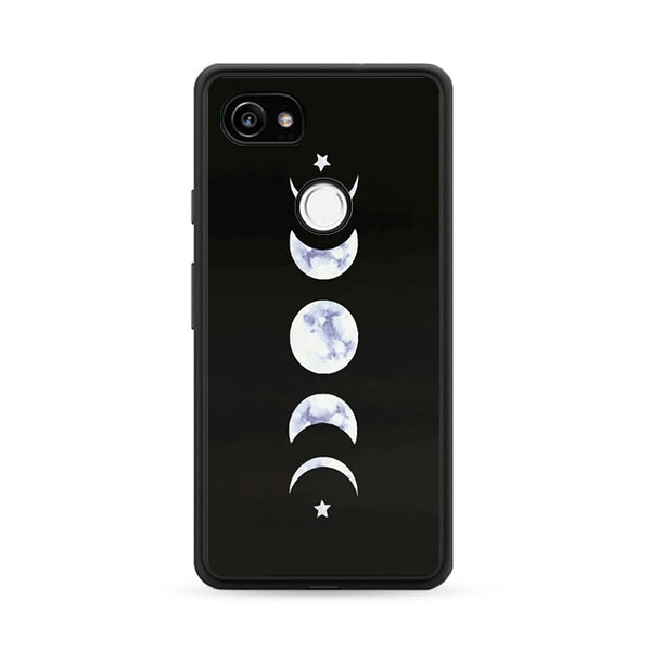 A Painting Phase Marble Moon Google Pixel 2 Case