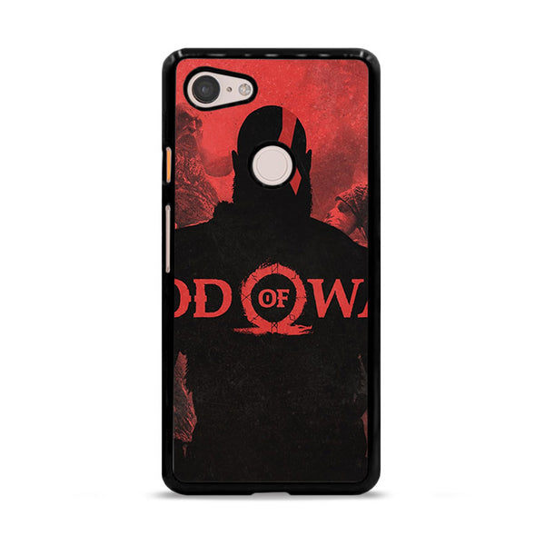 God Of War Games Poster Silhouette Google Pixel 3 Case