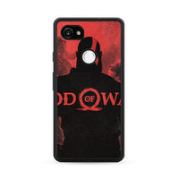 God Of War Games Poster Silhouette Google Pixel 2 XL Case